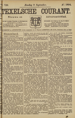 Texelsche Courant 1894-09-09