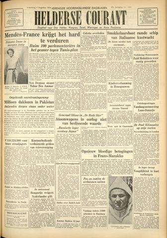 Heldersche Courant 1954-08-04
