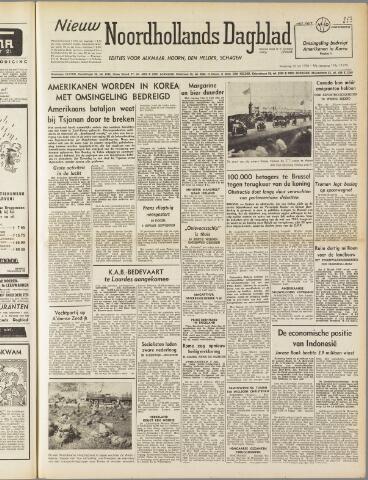 Nieuw Noordhollandsch Dagblad : voor Alkmaar en omgeving 1950-07-10