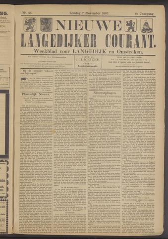 Nieuwe Langedijker Courant 1897-11-07