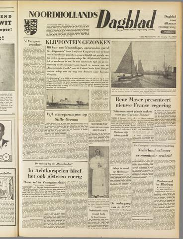 Noordhollands Dagblad : dagblad voor Alkmaar en omgeving 1953-01-09