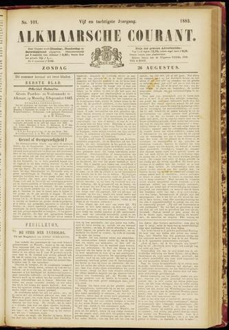 Alkmaarsche Courant 1883-08-26
