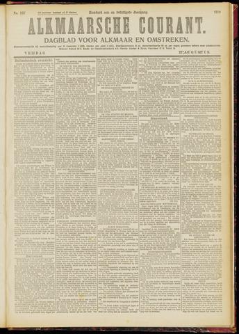 Alkmaarsche Courant 1919-08-22