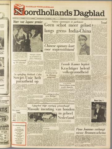Noordhollands Dagblad : dagblad voor Alkmaar en omgeving 1962-11-22