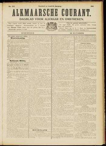 Alkmaarsche Courant 1910-10-26