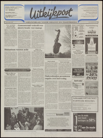 Uitkijkpost : nieuwsblad voor Heiloo e.o. 2000-12-06