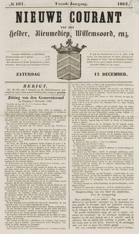 Nieuwe Courant van Den Helder 1862-12-13