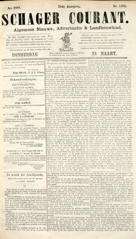 Schager Courant 1881-03-24