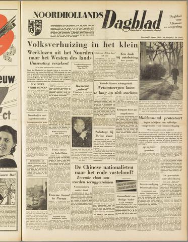 Noordhollands Dagblad : dagblad voor Alkmaar en omgeving 1953-01-31