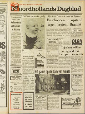 Noordhollands Dagblad : dagblad voor Alkmaar en omgeving 1968-04-26