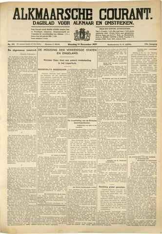 Alkmaarsche Courant 1937-12-14