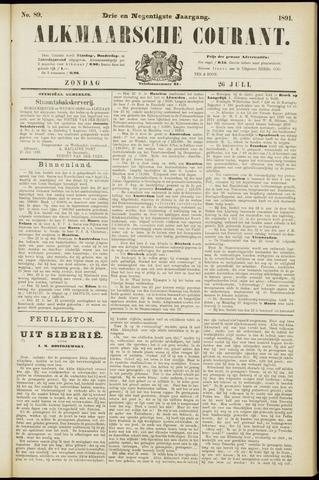 Alkmaarsche Courant 1891-07-26