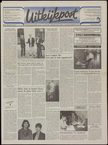 Uitkijkpost : nieuwsblad voor Heiloo e.o. 1992-09-09