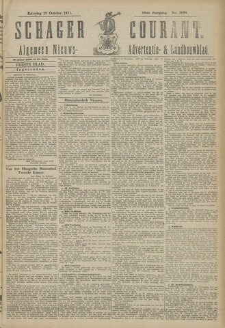 Schager Courant 1911-10-28