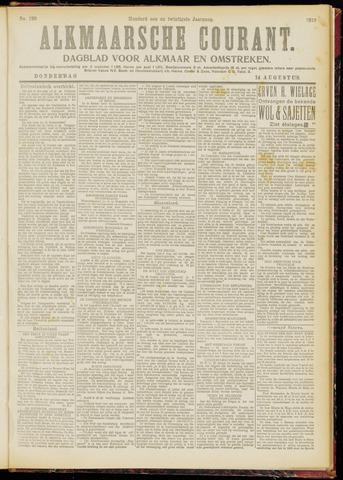 Alkmaarsche Courant 1919-08-14