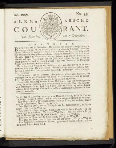 Alkmaarsche Courant 1808-12-05