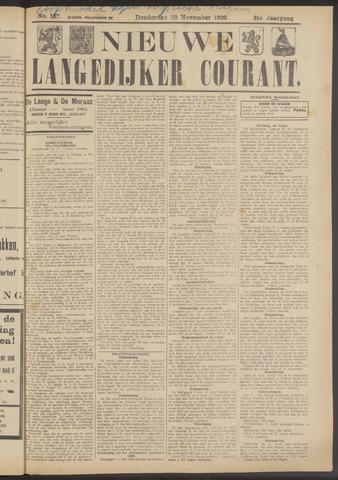 Nieuwe Langedijker Courant 1922-11-23