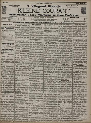 Vliegend blaadje : nieuws- en advertentiebode voor Den Helder 1908-12-05