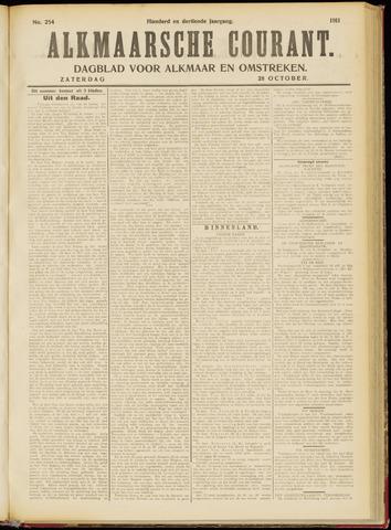 Alkmaarsche Courant 1911-10-28