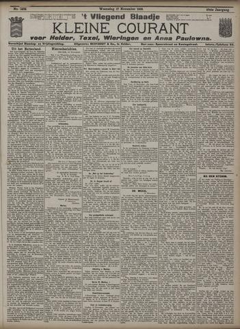 Vliegend blaadje : nieuws- en advertentiebode voor Den Helder 1909-11-17