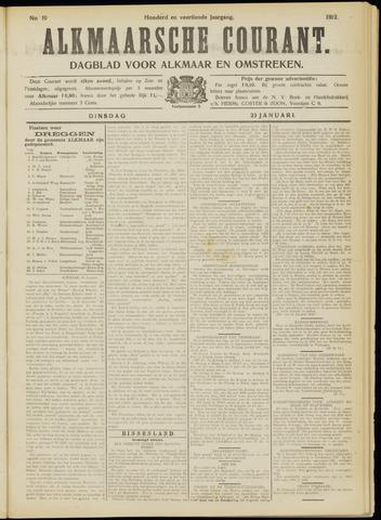 Alkmaarsche Courant 1912-01-23