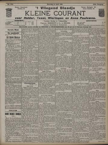 Vliegend blaadje : nieuws- en advertentiebode voor Den Helder 1909-04-10