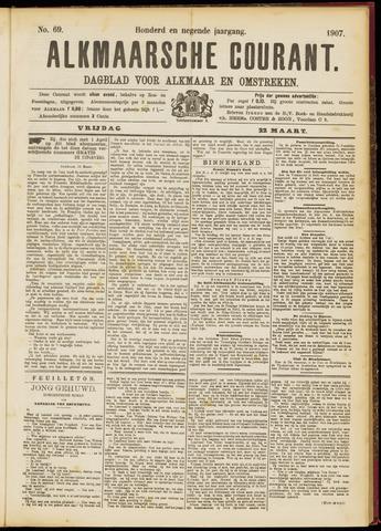 Alkmaarsche Courant 1907-03-22