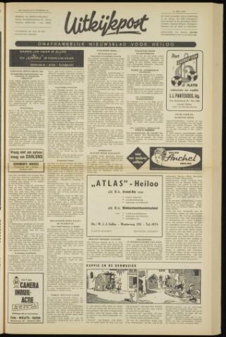 Uitkijkpost : nieuwsblad voor Heiloo e.o. 1962-05-31