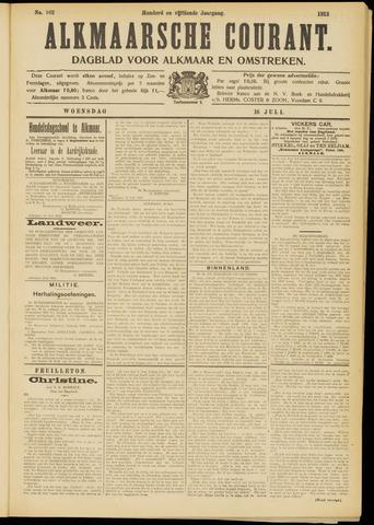 Alkmaarsche Courant 1913-07-16