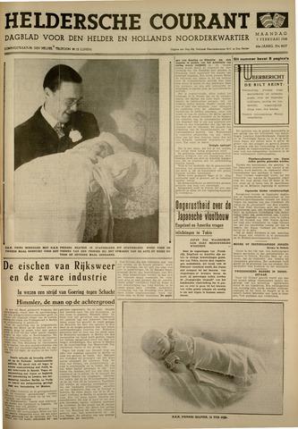 Heldersche Courant 1938-02-07