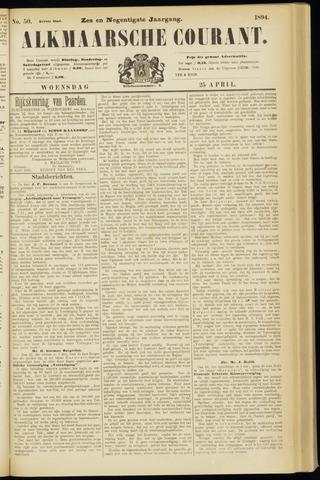Alkmaarsche Courant 1894-04-25