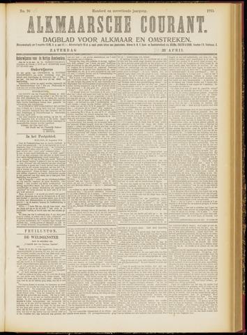 Alkmaarsche Courant 1915-04-24