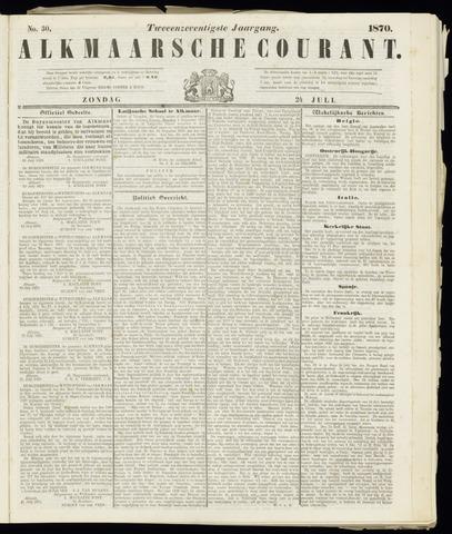 Alkmaarsche Courant 1870-07-24