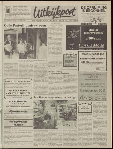 Uitkijkpost : nieuwsblad voor Heiloo e.o. 1986-06-25