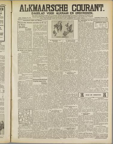 Alkmaarsche Courant 1941-10-02