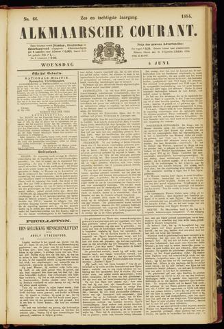Alkmaarsche Courant 1884-06-04