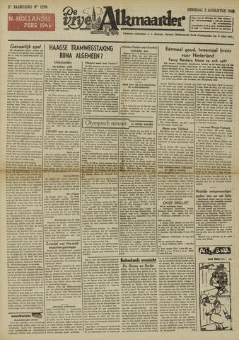De Vrije Alkmaarder 1948-08-03