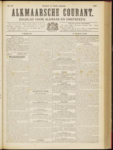 Alkmaarsche Courant 1908-02-21
