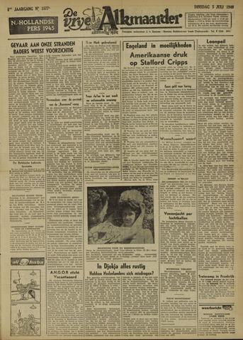 De Vrije Alkmaarder 1949-07-05