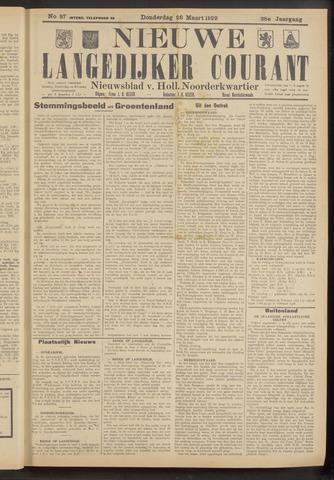 Nieuwe Langedijker Courant 1929-03-28