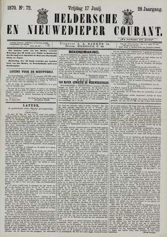 Heldersche en Nieuwedieper Courant 1870-06-17