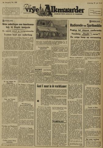 De Vrije Alkmaarder 1947-07-19