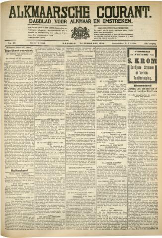 Alkmaarsche Courant 1930-02-24