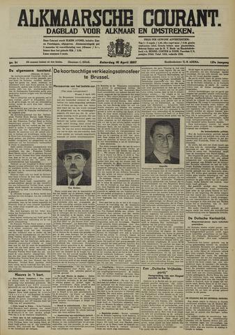 Alkmaarsche Courant 1937-04-10
