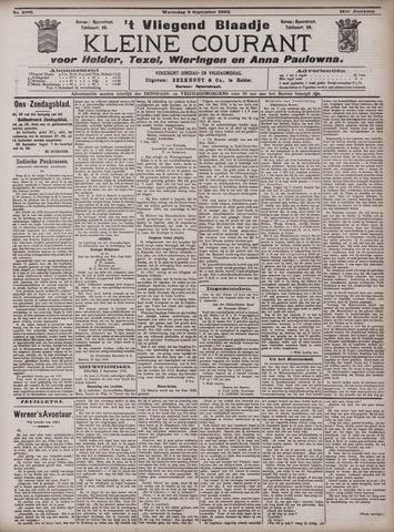 Vliegend blaadje : nieuws- en advertentiebode voor Den Helder 1903-09-09