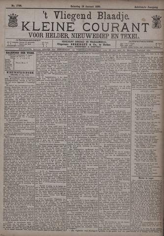 Vliegend blaadje : nieuws- en advertentiebode voor Den Helder 1890-01-18