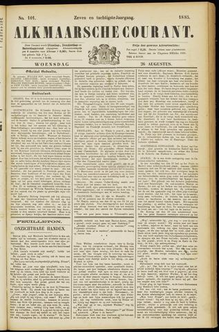 Alkmaarsche Courant 1885-08-26