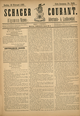 Schager Courant 1888-02-19