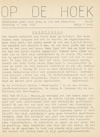 Op De Hoek, weekblad voor Akersloot 1955-06-11