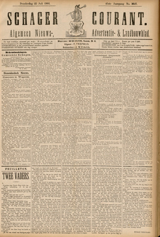 Schager Courant 1901-07-25
